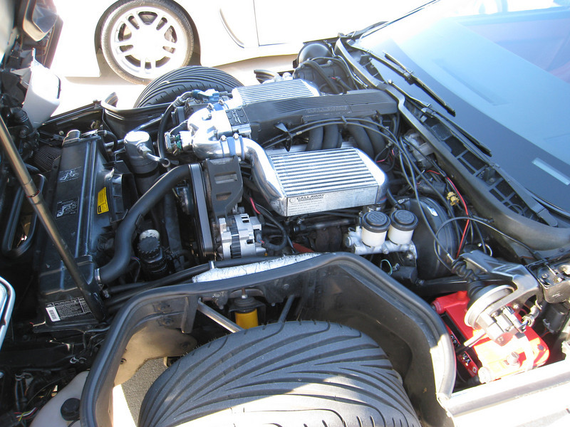 Callaway Corvette C4 Twin Turbo engine