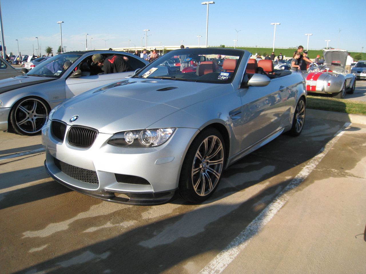 BMW M3 convertible with some extra aero add-ons