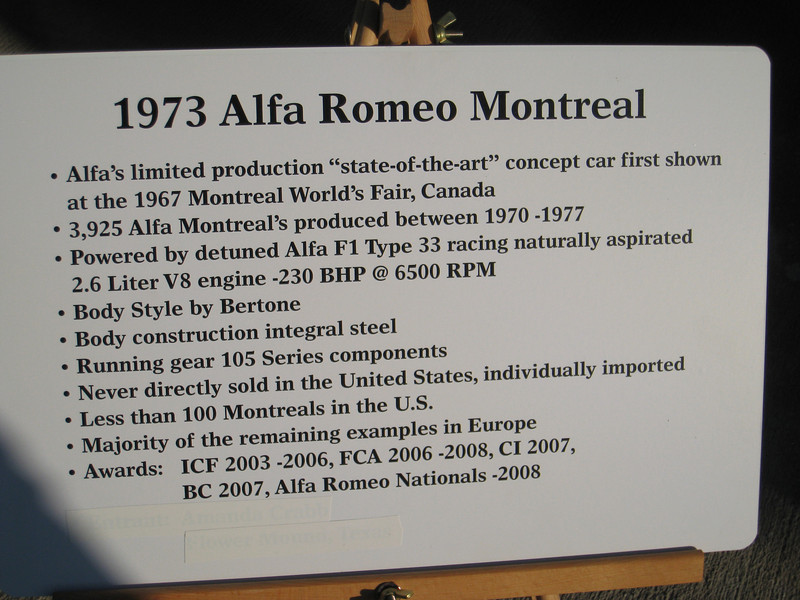 Alfa Montreal Info
