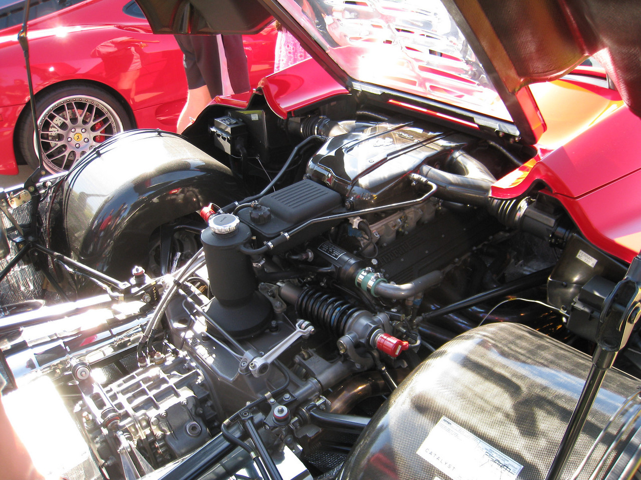 Ferrari F50 Engine