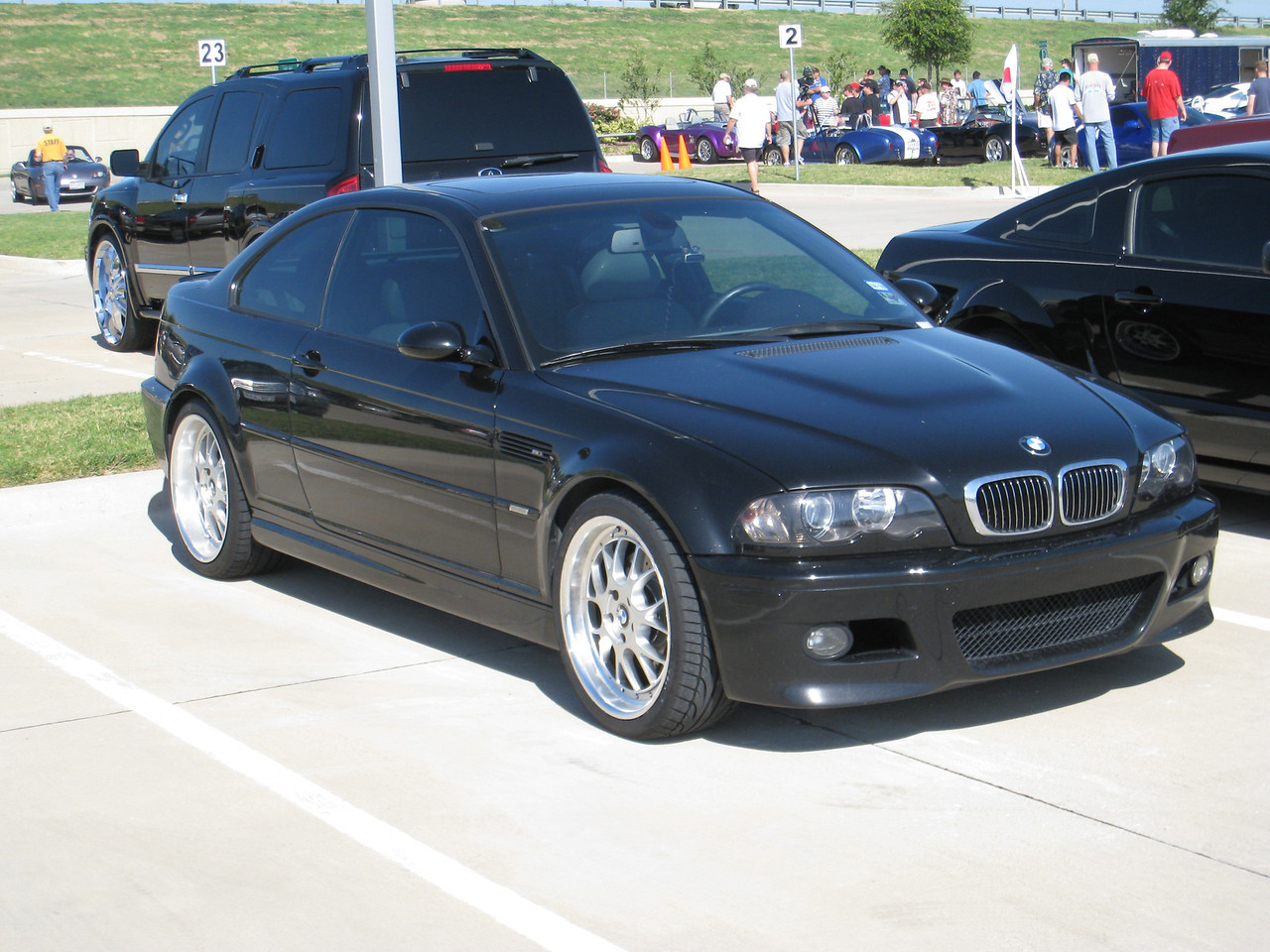 E46 BMW M3 - Nice wheels!