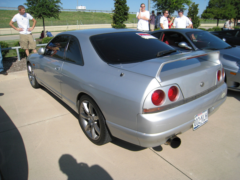 1996 Nissan Skyline, right-hand drive and everything.