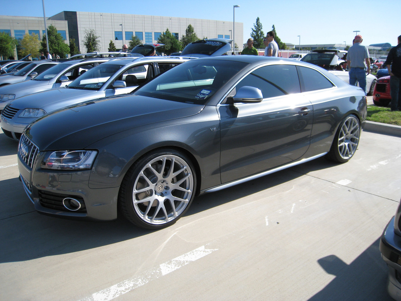 Audi S5 - love those wheels!