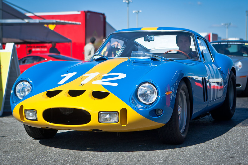 1962 Ferrari 250 GTO s/n 3445. Sebring and Targa Florio Winner in Paddock