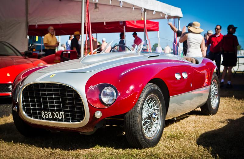1953 Ferrari 166MM/53 Barchetta Vignale S/N 0314M