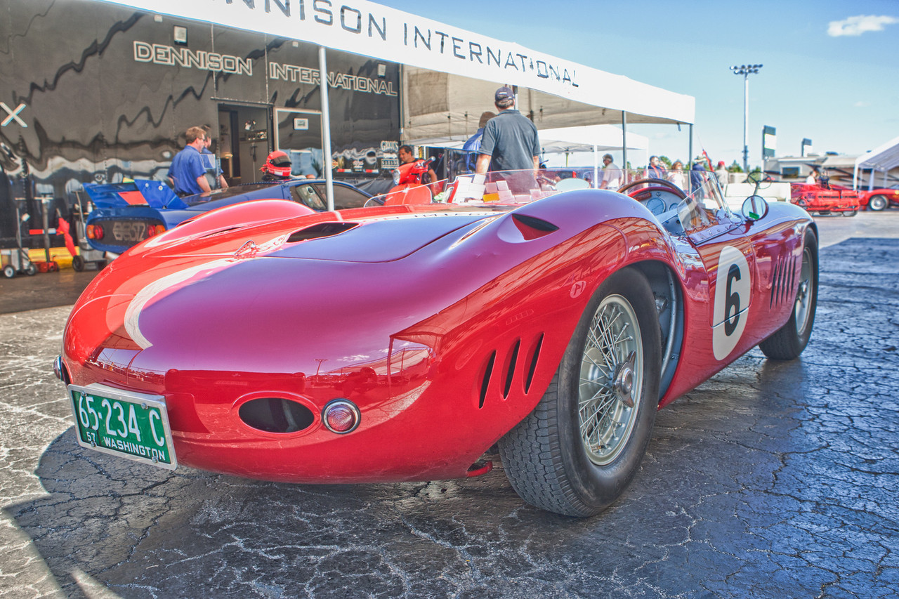 1957 Maserati 300S c/n 3072