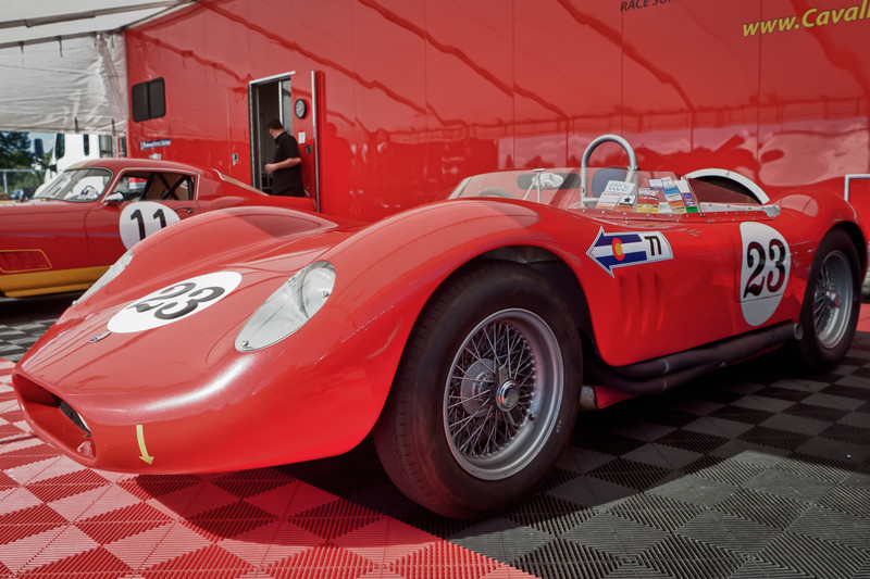 1957 Maserati 200 SI s/n 2423