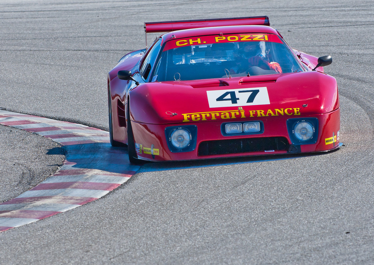 1981 Ferrari 512 BB Le Mans -- first in class, 5th overall