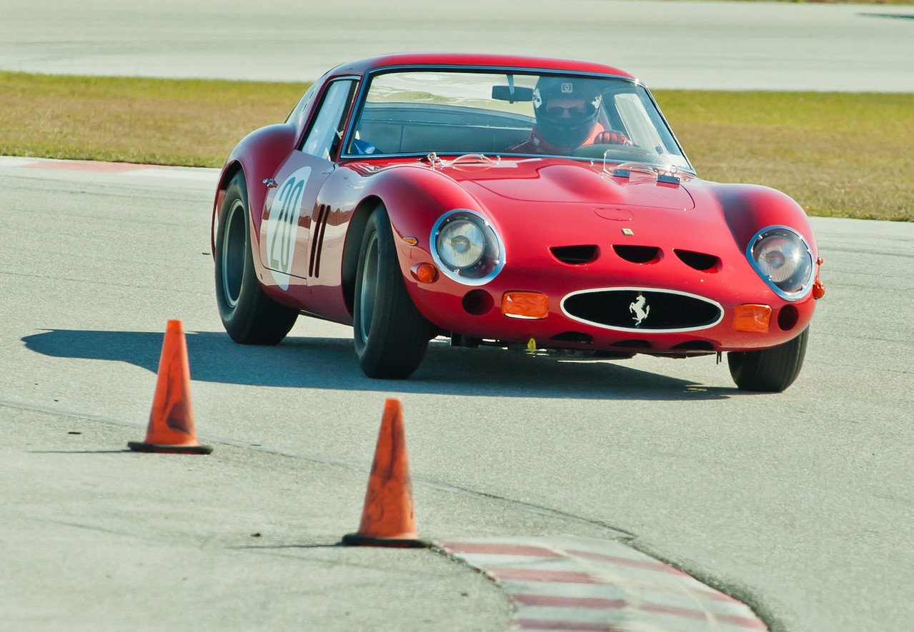 Tom Price in 1963 Ferrari 250 GTO s/n 4757GT