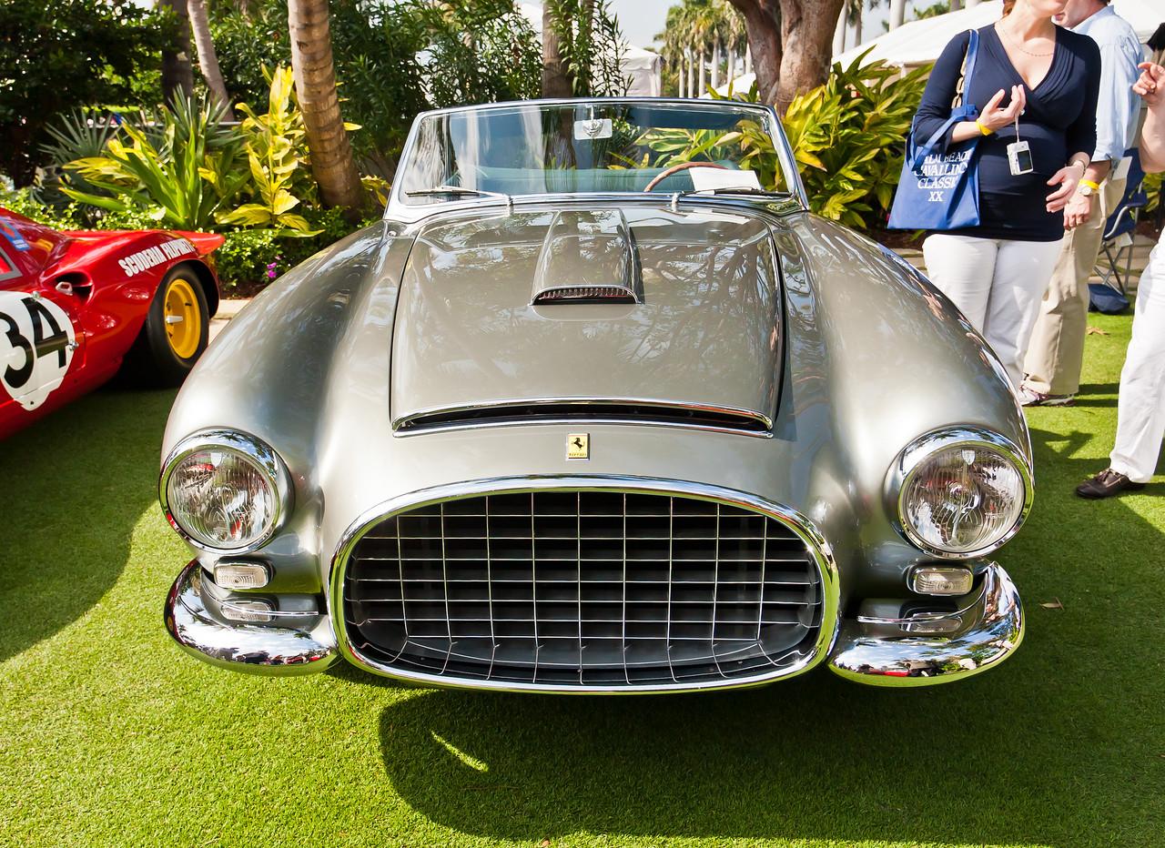 1953 Ferrari 342 America Cabriolet by Pininfarina