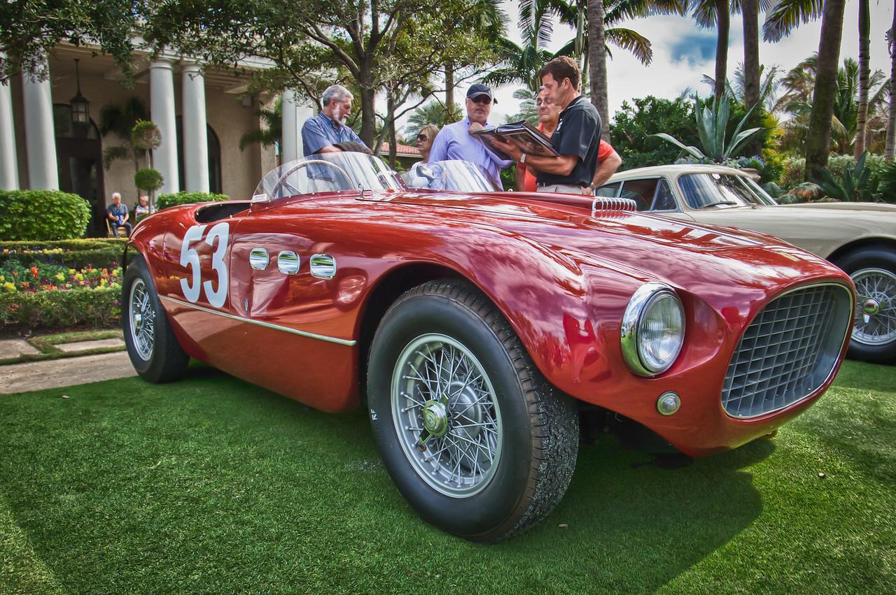1953 Ferrari 250 MM Spyder Vignale #0348MM