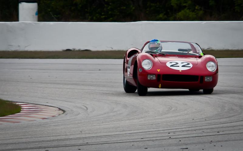 1964 Ferrari 275P/0812 Sebring Winning Car