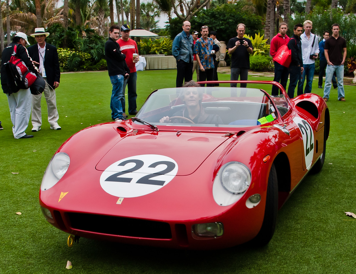 1964 Ferrari 275P/0812 Sebring Winning Car