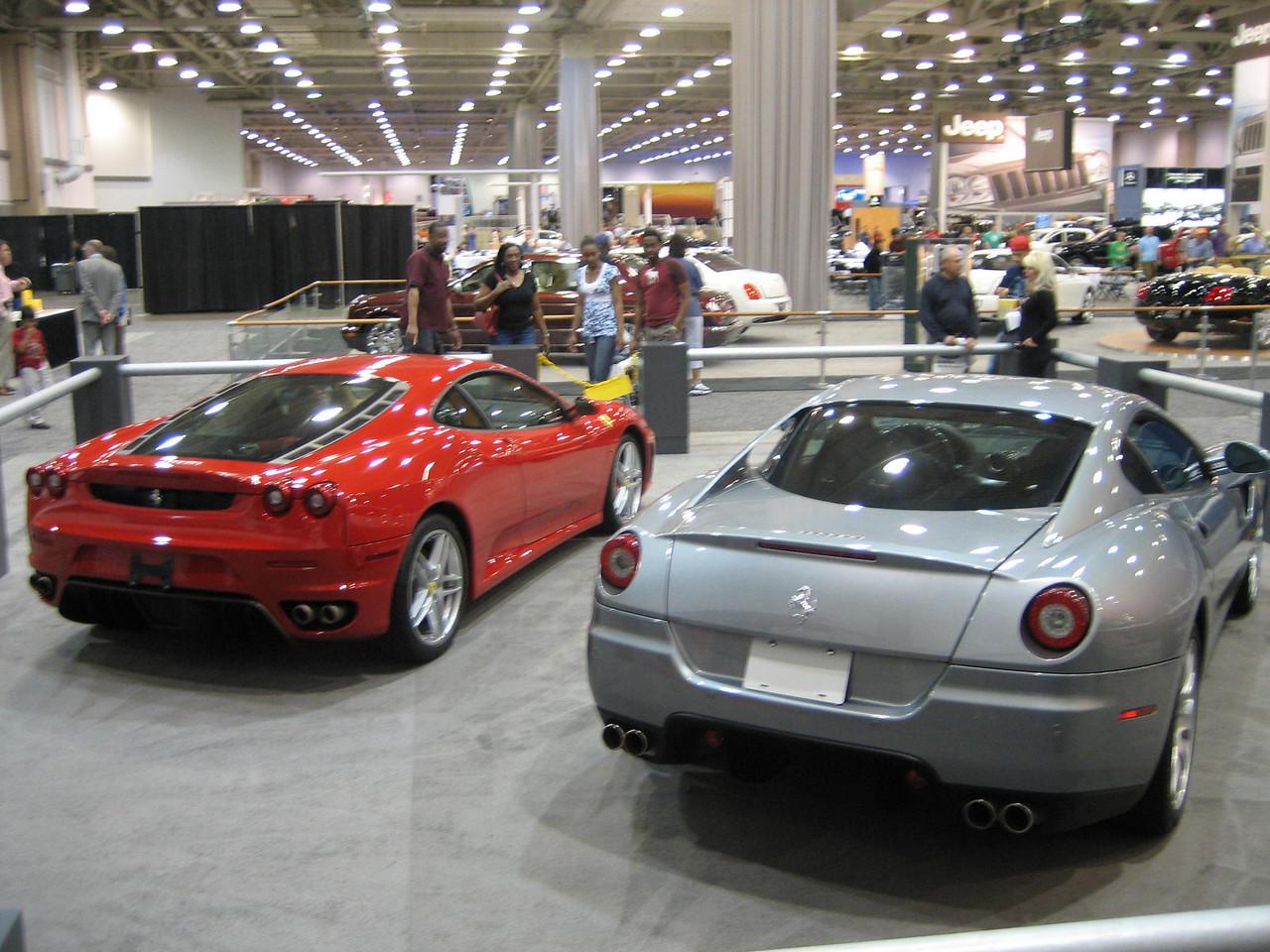 Ferrari F430 and 599 GB
