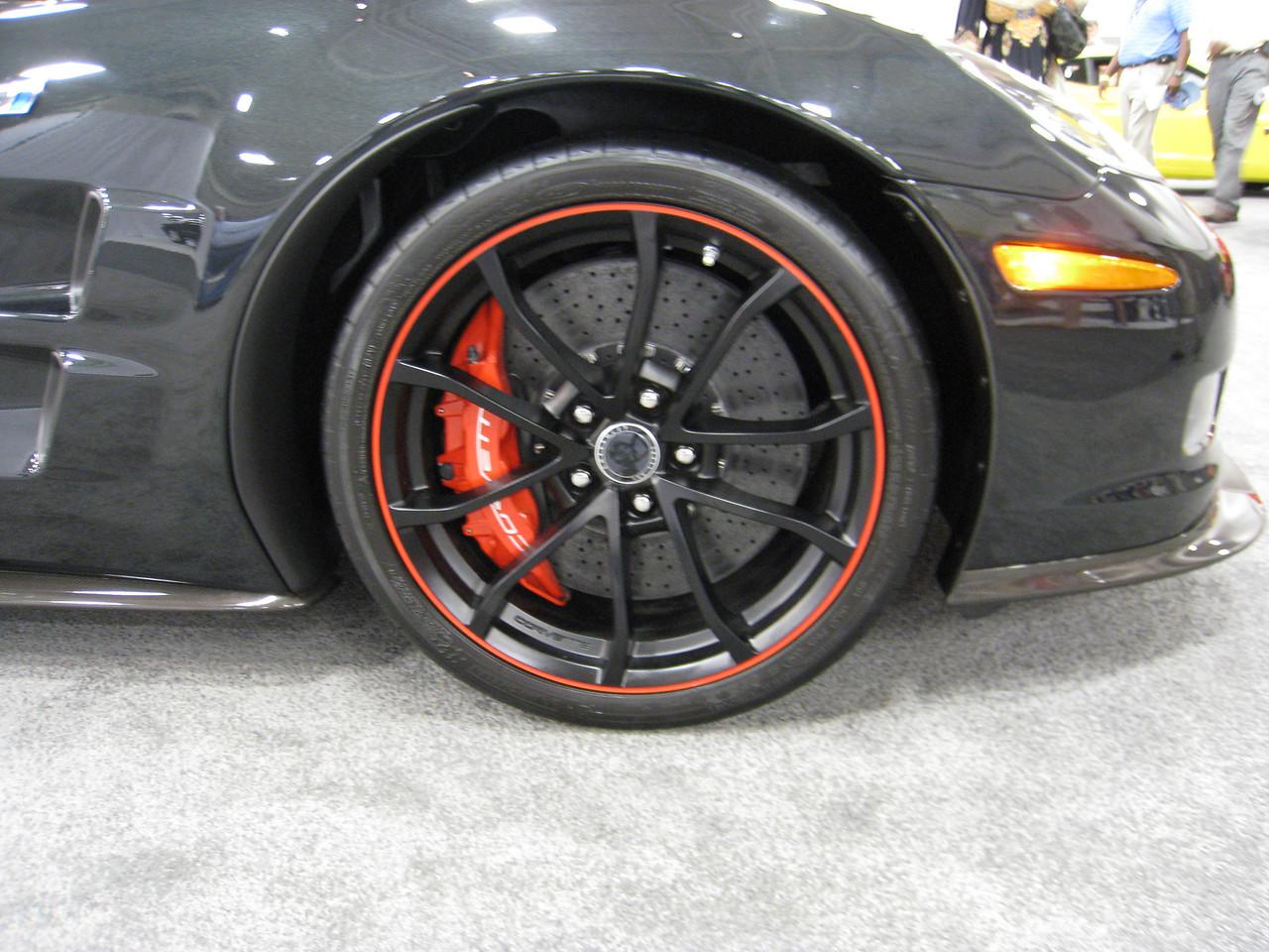 Corvette ZR1 - Big brakes