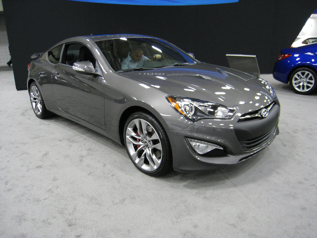 2013 Hyundai Genesis Coupe V-6 - 348 horsepower!