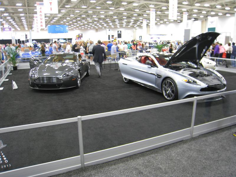 Aston Martin stand