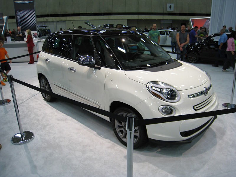 Fiat 500L - a stretched Fiat 500