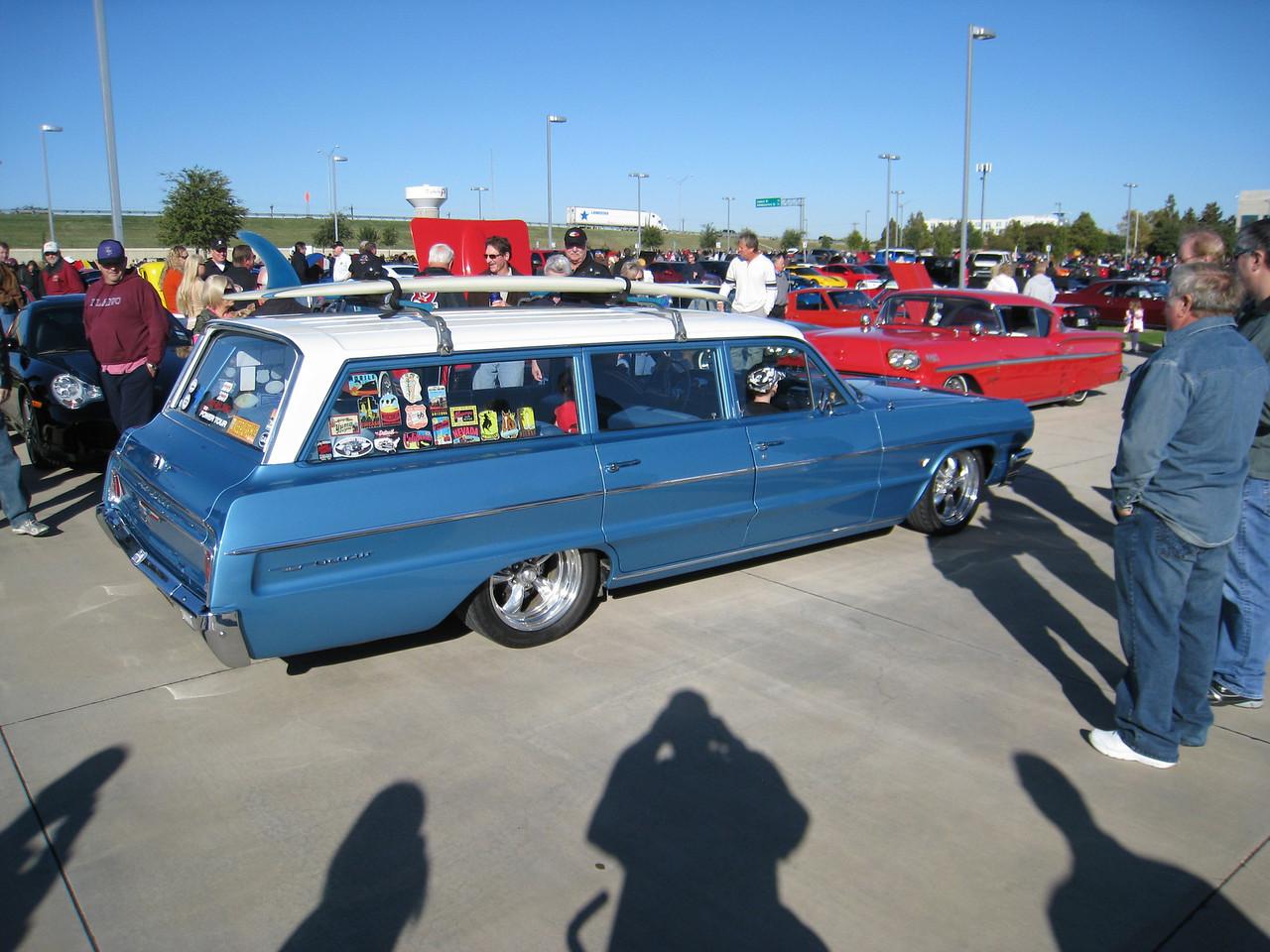 Surfin' wagon