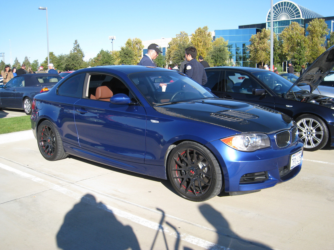 BMW 135i - pimped out a bit too much for my tastes.