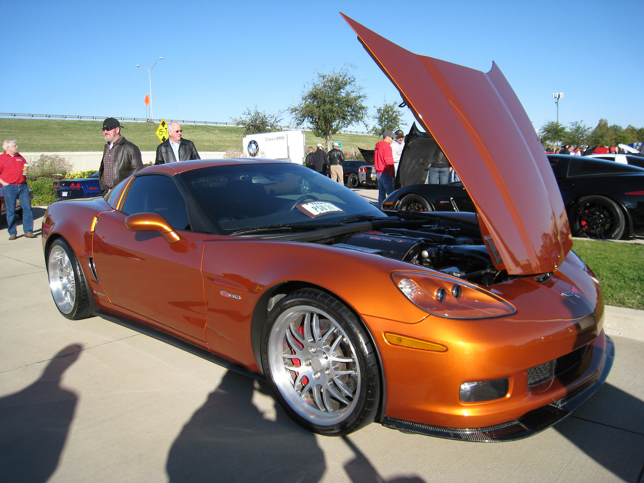 Corvette Z06 with sweet CCW wheels