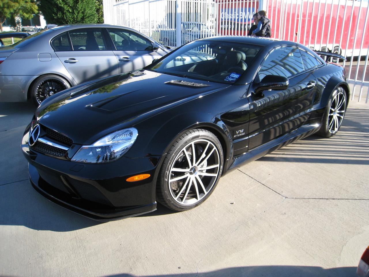 AMG SL65 Black series