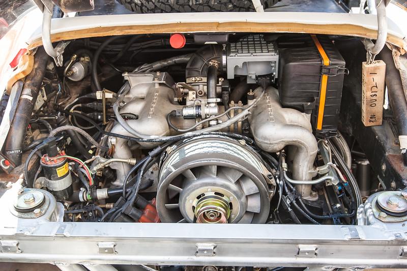 Porsche 959 twin turbo Rally engine