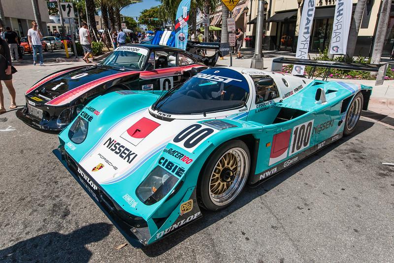 1987 Nisseki Porsche 962C and Interscope Racing 935 000-0027