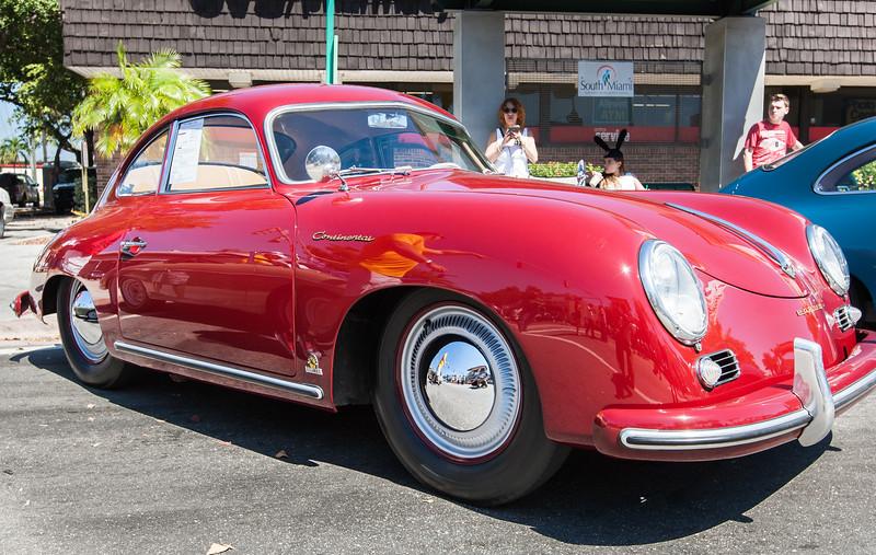1955 Porsche 356 bent window Continental
