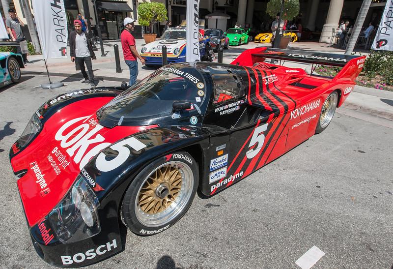 Bob Akin Racing Coca-Cola/Yokohama sponsored 962 -C04