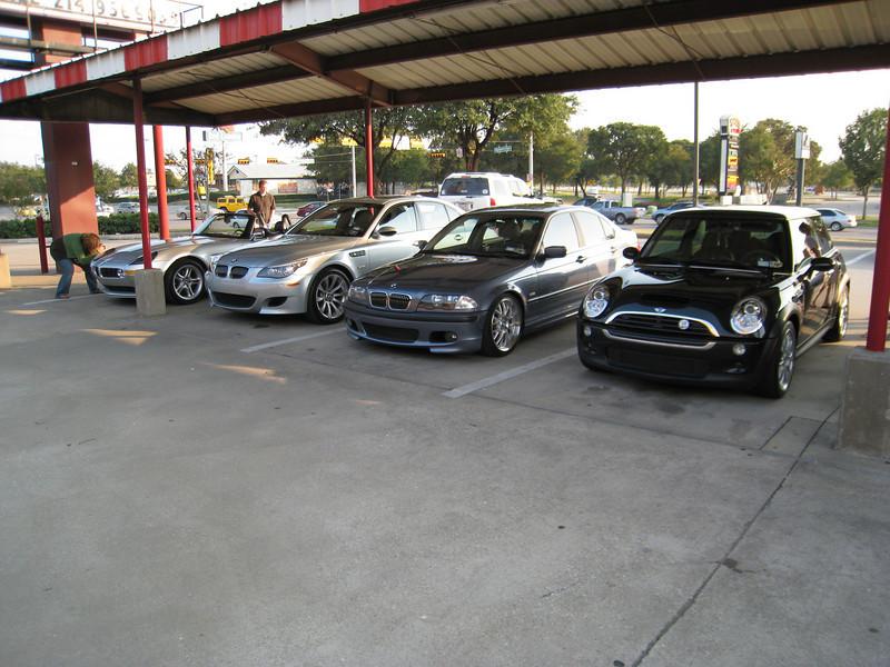 E60 M5, E46 328i, Mini Cooper S