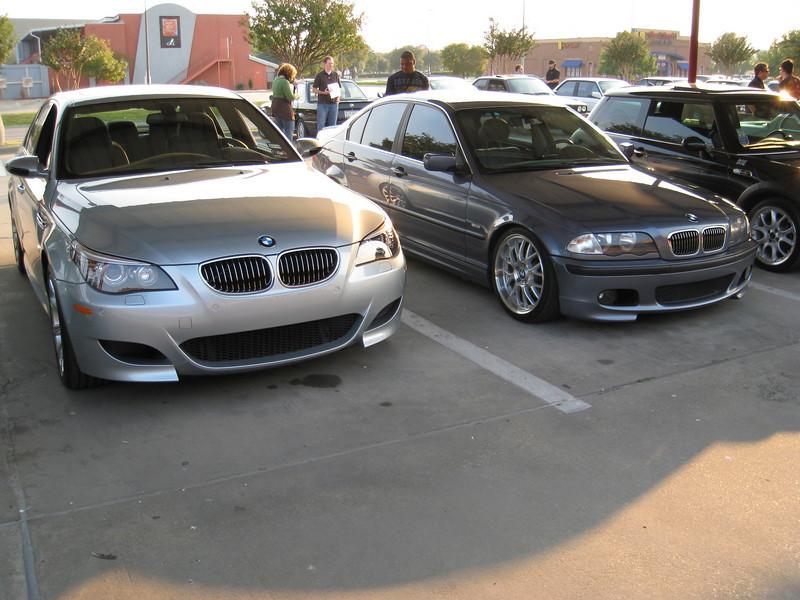 E60 M5 and E46 328i