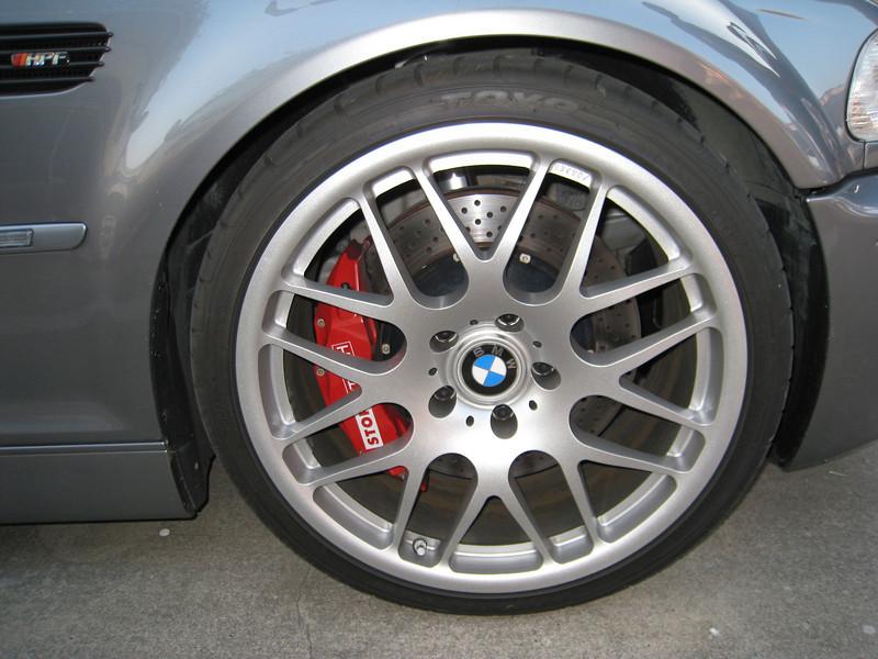 Turbo E46 M3 front wheel/brakes