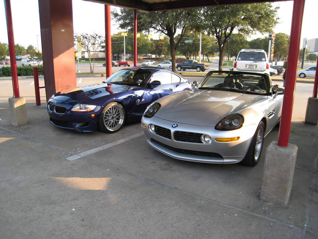 Z4 M Coupe and Z8