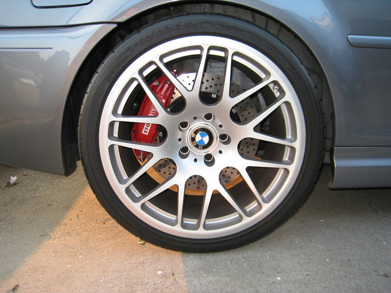 Rear wheel/brakes Turbo E46 M3