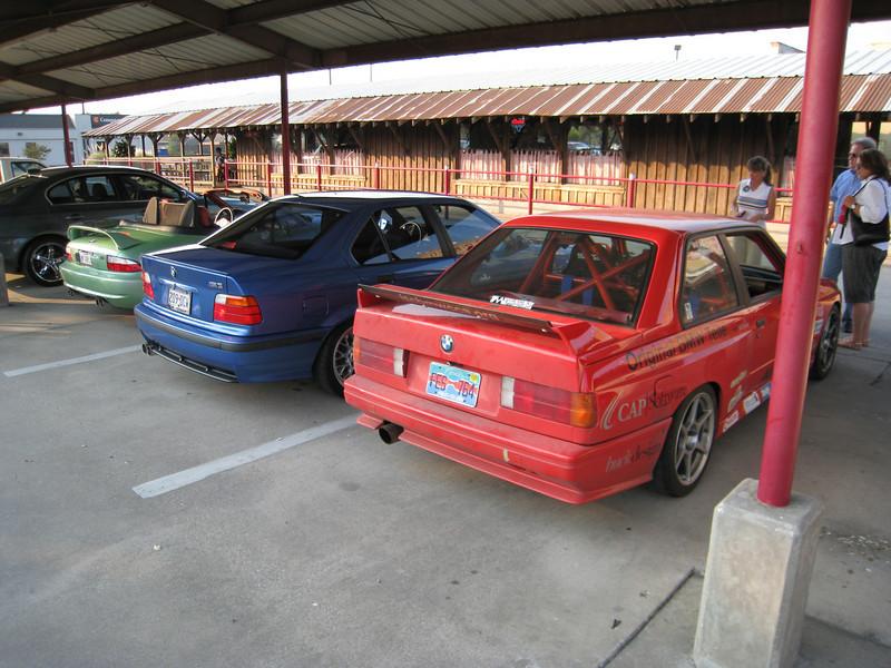 Estoril Blue E36 M3 and Will's E30 M3