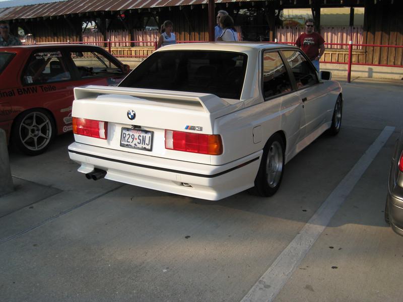 White E30 M3