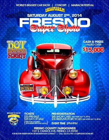 Lowrider Magazine Fresno Car Show Tour
