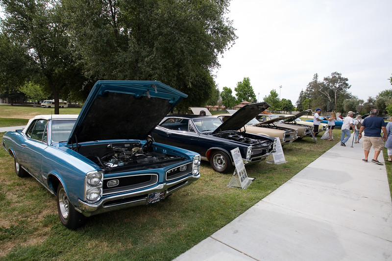 Pontiacs of Central California Car Show