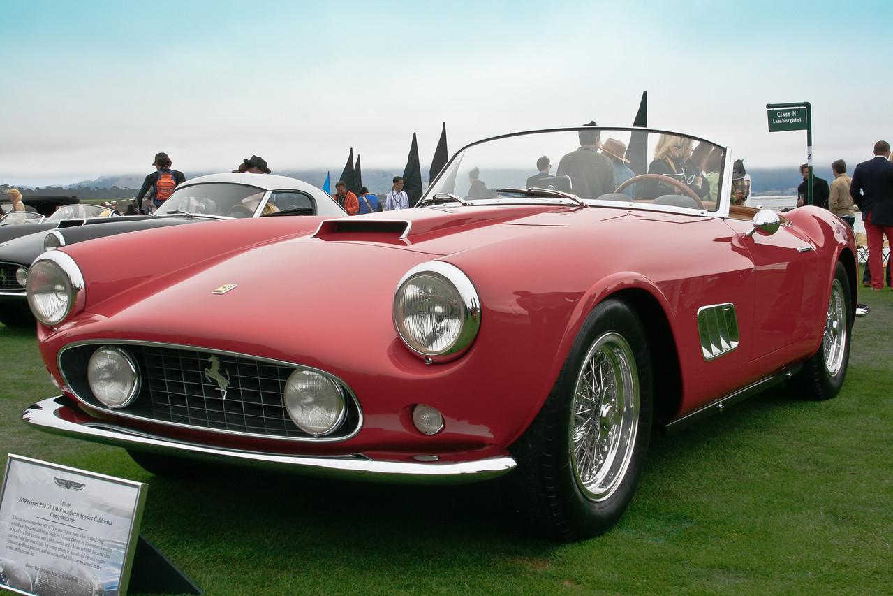 1959 Ferrari 250 GT LWB Scaglietti Spyder California Competizione