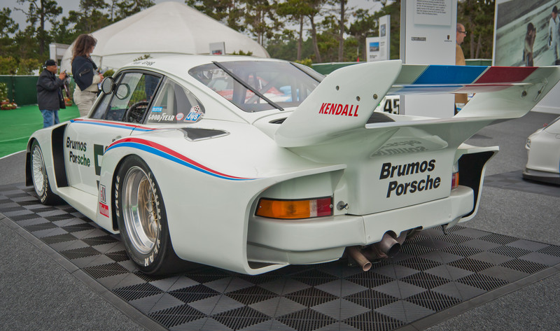 Brumos Porsche 935 in which Peter Gregg won 1975 IMSA championship