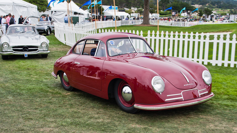 1949 Porsche 356/2-045 Coupe. 45th Porsche built, owned by Hans-Peter Porsche