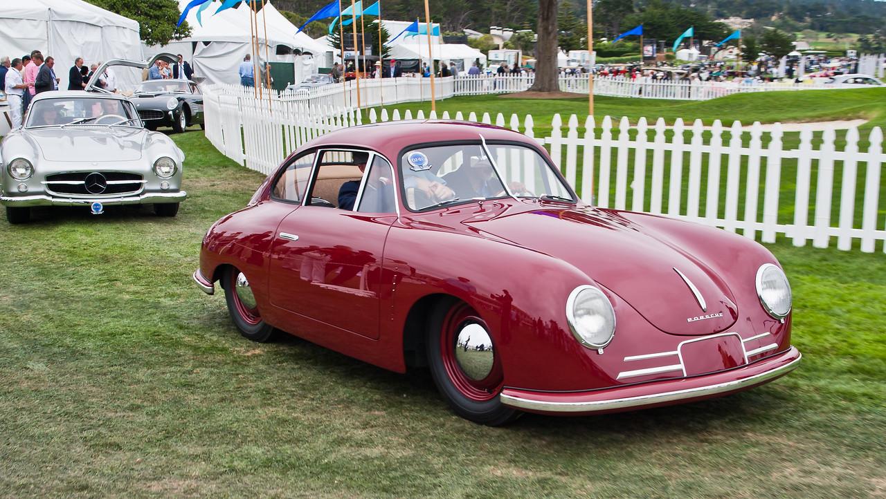 1949 Porsche 356/2-045 Coupe. 45th Porsche built, owned by Hans-Peter Porsche
