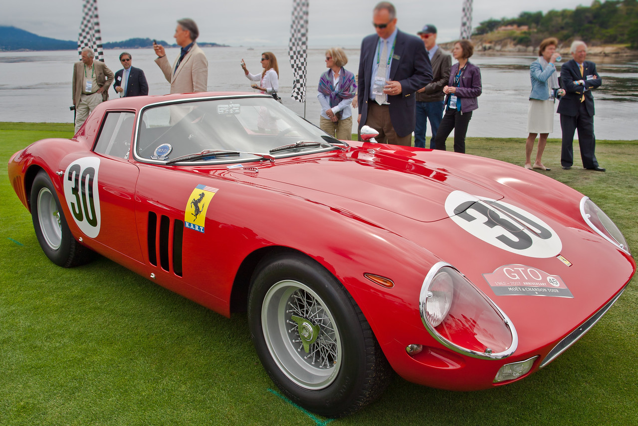 1964 Ferrari 250 GTO/64 Scaglietti Berlinetta Chassis # 5571GT. Daytona winner ex-Phil Hill and Pedro Rodriguez,