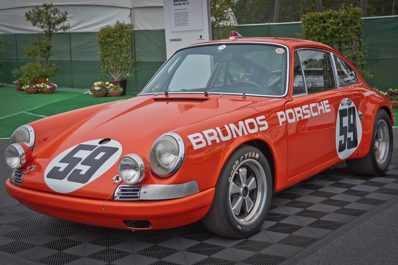 Brumos 1972 911S IMSA Champion ex-Hurley Haywood