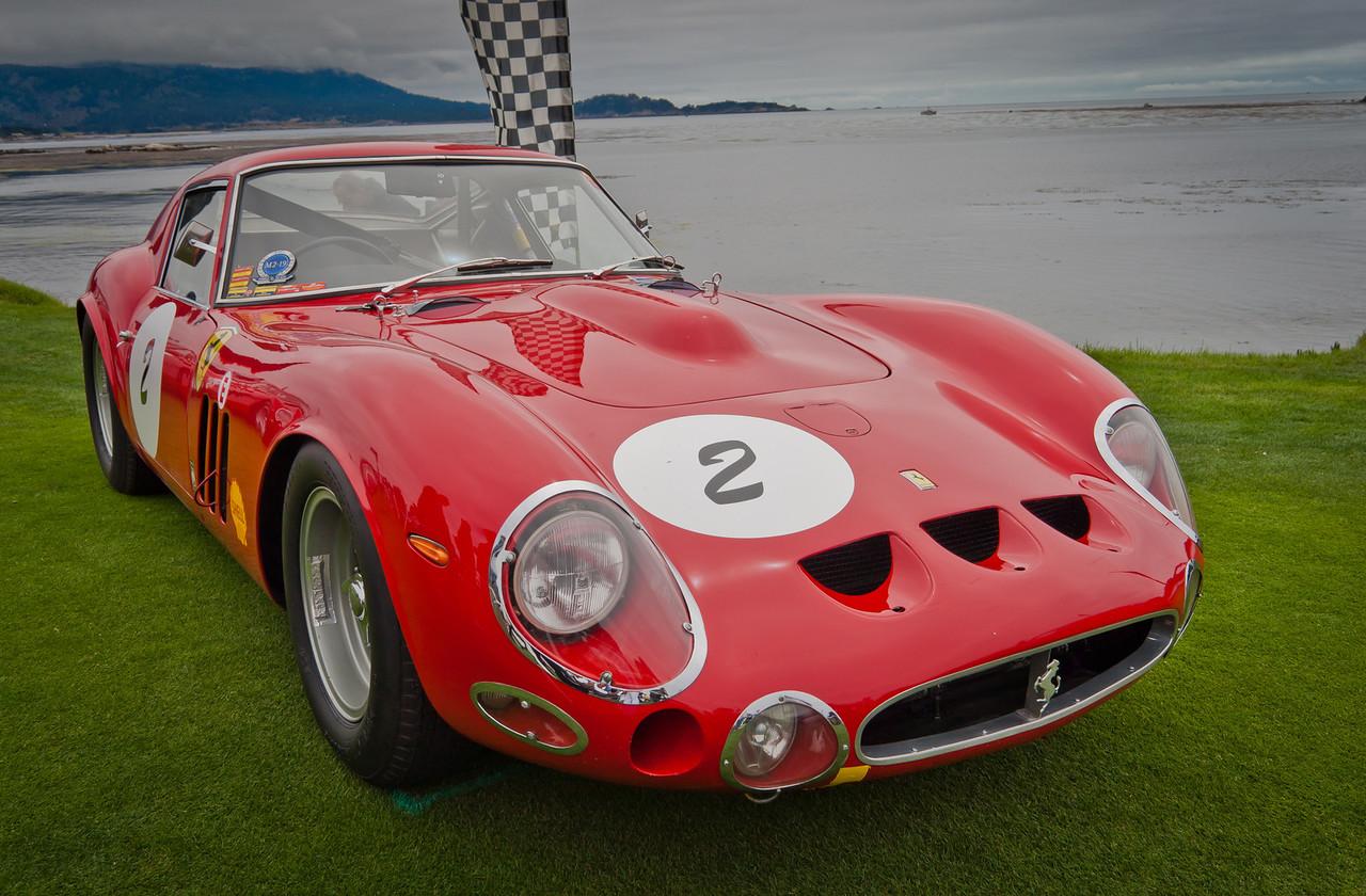 1963 Ferrari 250/330 GTO Scaglietti Berlinetta Chassis 4561SA. 4-liter 330 GTO motor in Superamerica chassis