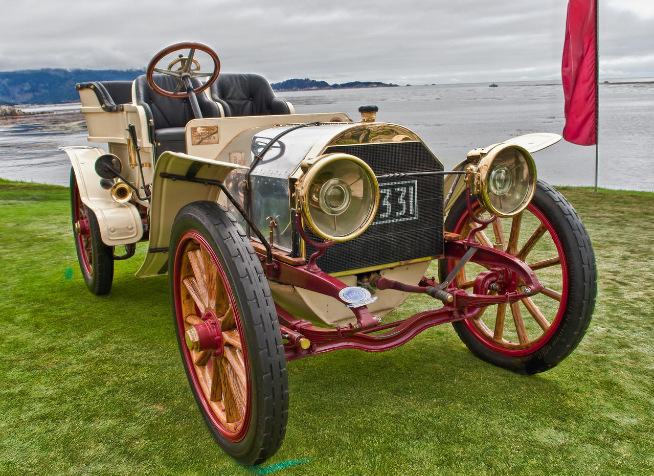 1904 Mercedes 28/32 HP Rear Entrance Tonneau