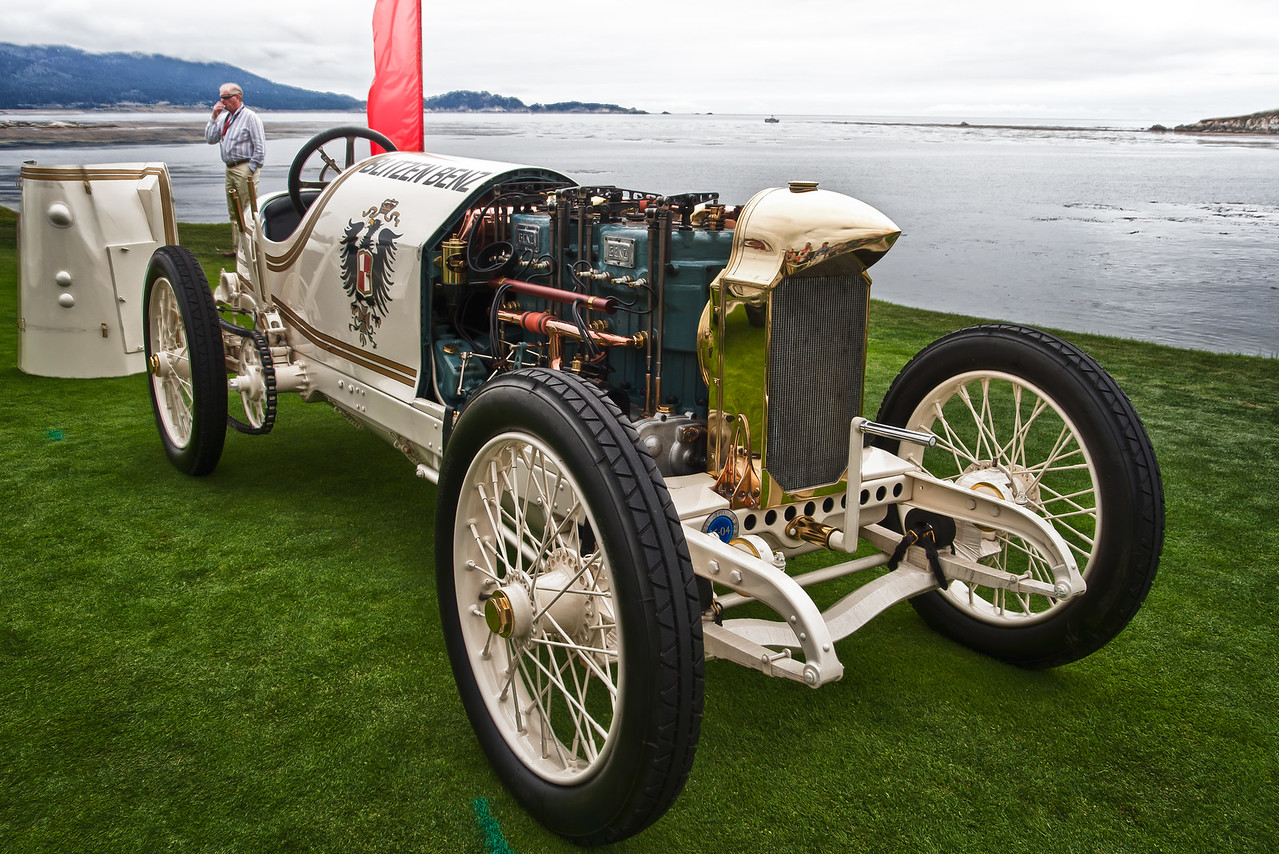 "1911 Benz 200 HP ""Blitzen Benz"". Set speed record of 141.7 mph at Daytona in 1911"