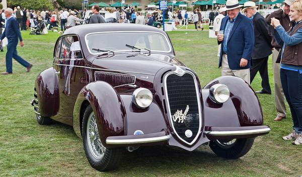1938 Alfa Romeo 6C 2300 Touring Coupe