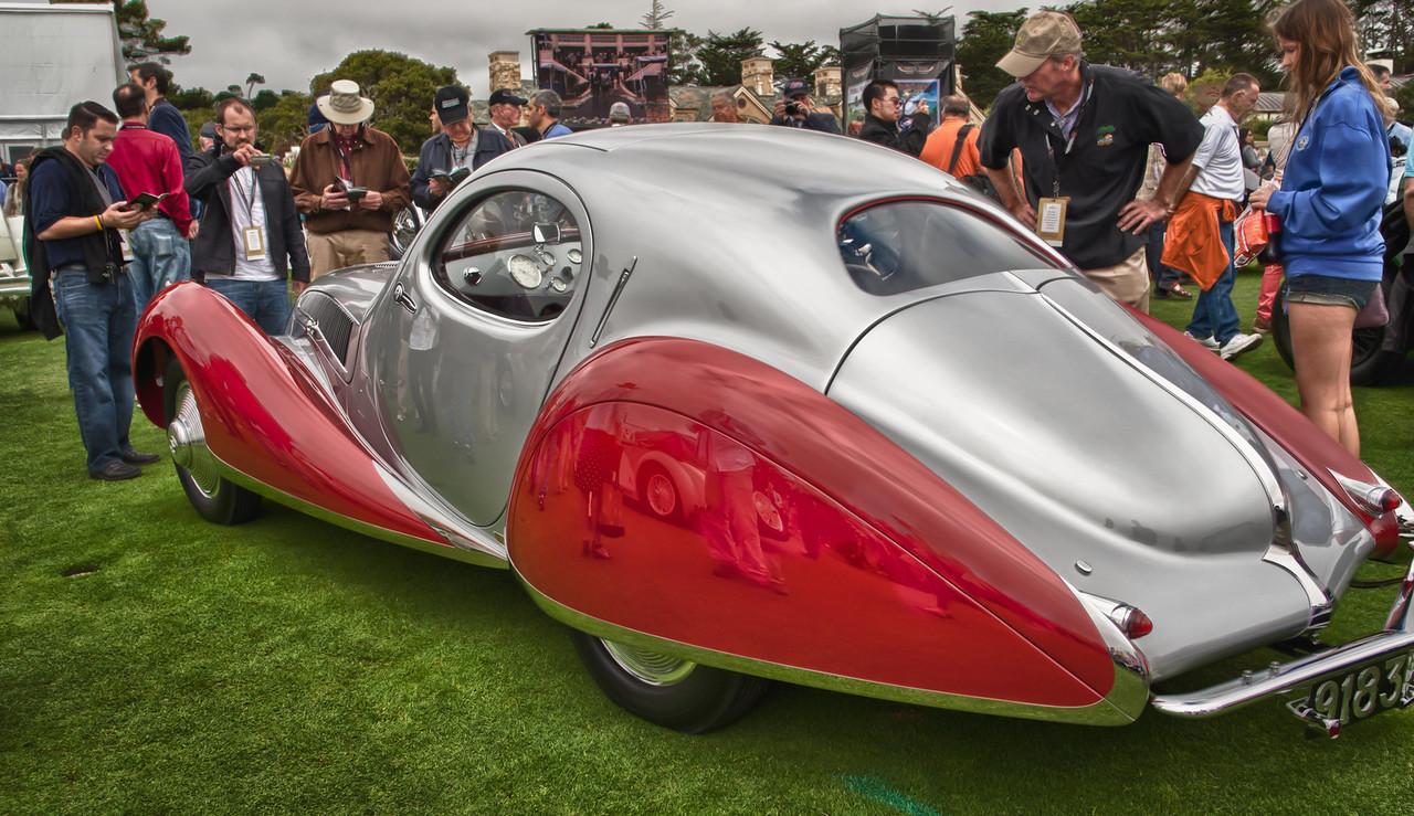 1937 Talbot-Lago T150-SS Figoni and Falaschi Coupe, JW Marriott,, Jr.
